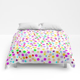 Colorful Rain 15 Comforters