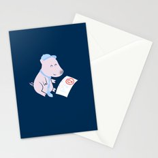 That'll Do Pig. Stationery Cards