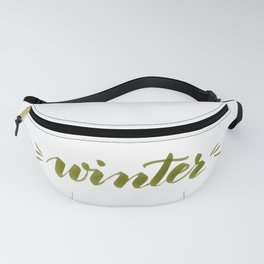 Winter - green Fanny Pack