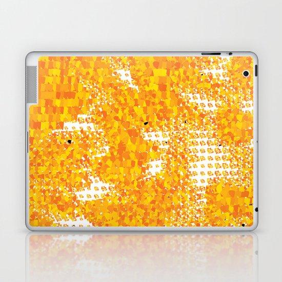 Golden Pebbles Laptop & iPad Skin