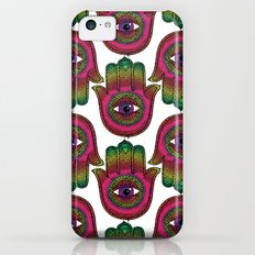 Hamsa: Made by a rainbow iPhone 5c Slim Case