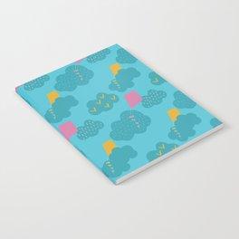 kites - blue Notebook