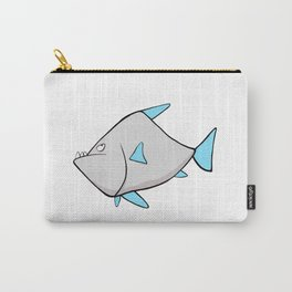 Scribble2Masterpiece - WARY PIRANHA fish! Carry-All Pouch