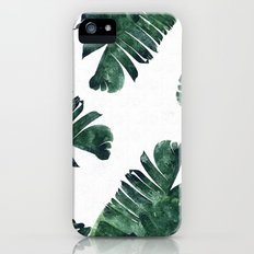 Banana Leaf Watercolor Pattern #society6 Slim Case iPhone (5, 5s)