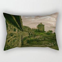 Eilean Donan Castle, Kyle of Lochalsh, Scotland Rectangular Pillow