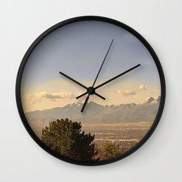 Salt lake 4 Wall Clock