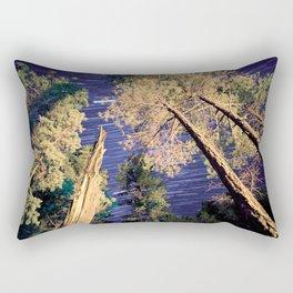 Startrails Rectangular Pillow