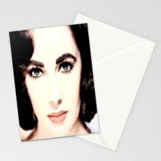 Elizabeth Taylor Face Stationery Cards