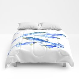 Blue Fish Aquatic fish design Comforters