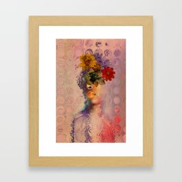 Distant Spring Dreams Framed Art Print
