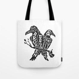 Blackbirds Singing Tote Bag