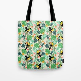 Toucan Island Tote Bag