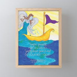 Magdalena Forgive Framed Mini Art Print