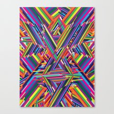 The Shattering Canvas Print