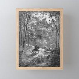 Don Quijote Framed Mini Art Print