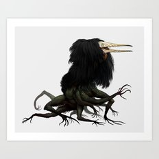 Twitchy Vukka Art Print