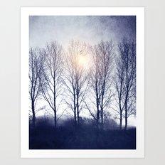 Winter Sequence II Art Print