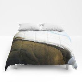 Slice of Heaven - Original Abstract Painting Comforters