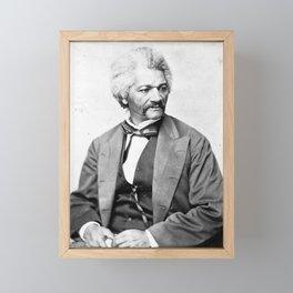 Frederick Douglass Vintage Photograph Circa 1850 Framed Mini Art Print