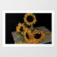 Still Life Sunflowers Art Print