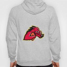 Wild Boar American Football Mascot Hoody