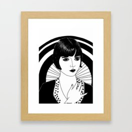 "Inktober, Day 24 ""Chop"" #inktober #inktober2018 Framed Art Print"