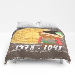 Francisco Pizarro Comforters