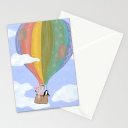 First Flight / Hot Air Balloon Stationery Cards