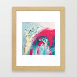 Untitled (Carrying On) Framed Art Print