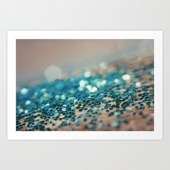 Sprinkled with Sparkle Art Print