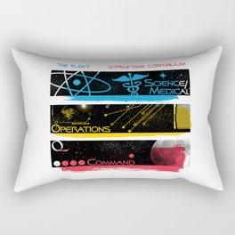 SpaceTime Continuum Rectangular Pillow