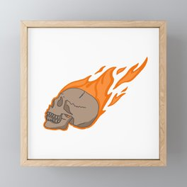 I'm on Fire Framed Mini Art Print