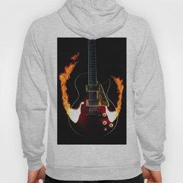 Burning Rock Guitar Hoody