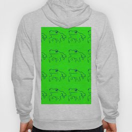 Green Frogs Hoody