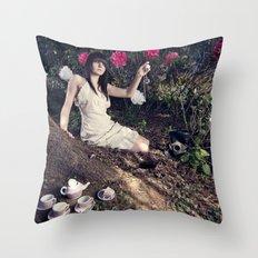 Alice In Memoriam Throw Pillow
