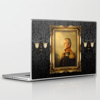 pin up Laptop & iPad Skins featuring Bill Murray - replaceface by replaceface