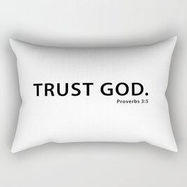 Trust God Rectangular Pillow