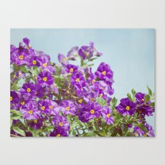 With Glee Canvas Print