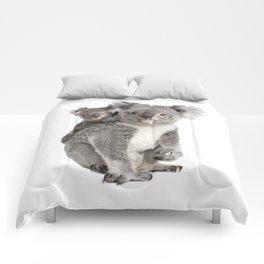 Koala bear and her baby Comforters
