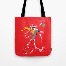Protoman Splattery Design Tote Bag
