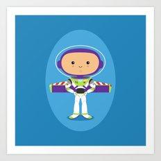 Space Ranger Art Print