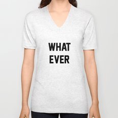Whatever Unisex V-Neck