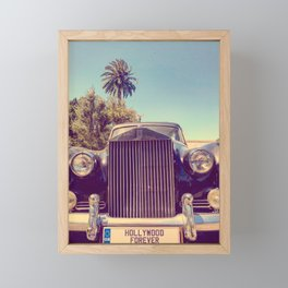 Hollywood Forever Framed Mini Art Print