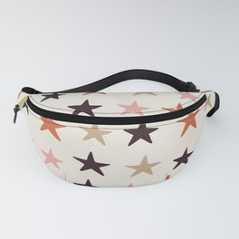Star Pattern Color Fanny Pack