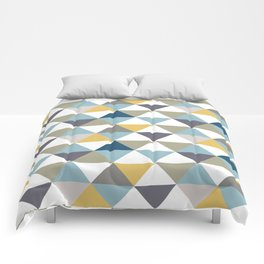 Infinite Triangle Party Comforters