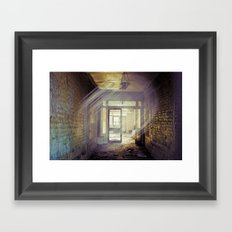 Side Street in Dublin Framed Art Print