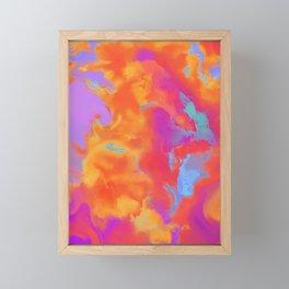 Explosive Sky Framed Mini Art Print