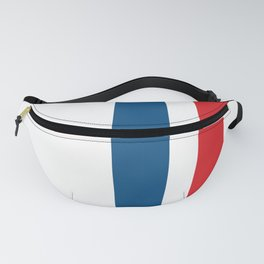 McQueen – Red and Blue Stripes Fanny Pack
