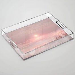 Pastel desert Acrylic Tray