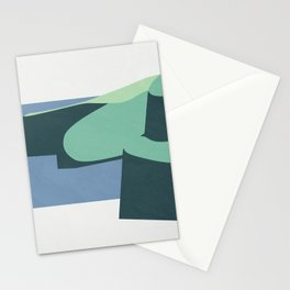 Color and Shape - Cliffs of Moher Stationery Cards